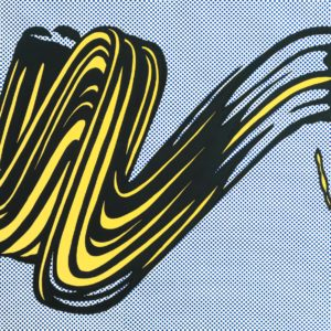 Brushstroke 1965 Roy Lichtenstein 1923-1997 Purchased 1979 http://www.tate.org.uk/art/work/P07354